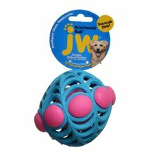 "LM JW Pet Arachnoid Ball Squeaker Dog Toy Medium - 5"" Diameter"