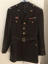 Ww2 Us Army Officers Colonel Rank Jacket With Insignia