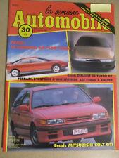 LA SEMAINE AUTOMOBILE: n°105: 15/10/1988: RENAULT 25 TURBO DX - COLT GTI - F3000