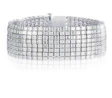 G Vs Emerald  Cut Diamond Tennis Bracelet 41 Ct Platinum $148000 Retail Wow!!!