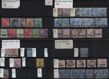 BRITISH LEVANT: 1885 Onward Used & Unused Examples - 8 Stock Cards (36536)
