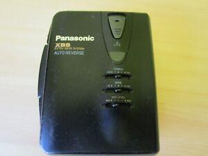RETRO PANASONIC XBS AUTO REVERSE PERSONAL WALKMAN MODEL RQ-P200