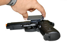 NEW GUN MAGNET HIDDEN CONCEALED CARRY FAST DRAW UNDER TABLE CAR DASH READY DRAW