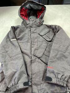 686 Youth Boy's Smarty Brown Ski Jacket Size Large #16