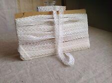 Vintage French Lace /White Lace Trim 4m / Antique Lace Ballet Dolls Bears NOS