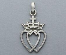 Médaille, Pendentif Patriotique. Cœur Vendéen. Chouan. Vendée. Croix, Couronne.