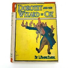 Dorothy and the Wizard in Oz L. Frank Baum 1939 Black/ White Plates Dust Jacket