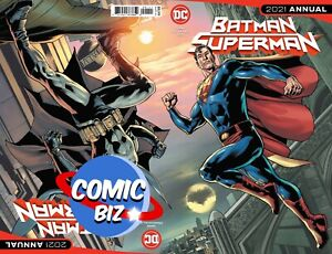 BATMAN SUPERMAN 2021 ANNUAL #1 (2021) 1ST PRINTING MAIN COVER A DC COMICS