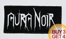 AURA NOIR W PATCH BUY3GET4,NIFELHEIM,DESASTER,DESTROYER 666,BLACK THRASH METAL