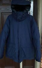 Marmot Whitehorse 650 Fill Goose Down 3XL Hooded Navy Blue Parka Jacket Mens