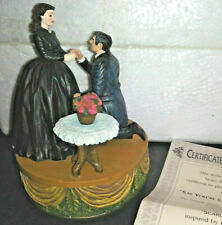 "Gone WithThe Wind ""Say You'll Marry Me"" Trinket/Music Box. with Box New with Coa"