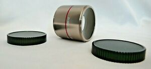 Dual Combination Lens CRX4030 Semi-Fisheye Video Lens M46  0.45x Telephoto 2.0x
