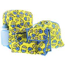Despicable Me Minions 5 piece Backpack School Set B17DL33117 Universal Studios