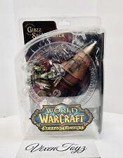 World of Warcraft Action Figure Dc Series 6 Gibzz Sparklighter Nib Dmg Pk