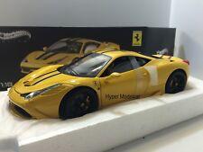 ELITE 1/18 Ferrari 458 Italia Speciale2013 Yelllow Art. BLY32