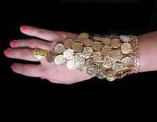 Belly Dance Jewelry Egyptian Golden coin bangle/bracelet/Armlet
