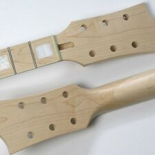 L P Style Maple/Maple With Binding Block Inlay 22 Fret Guitar Neck NK32