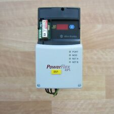 AB PowerFlex 40 1HP 22D-D2P3N104 with 22-COMM-E, 22-RF012-BL, & 20A-DG01