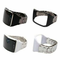 Metal Stainless Wrist Watch Band Strap +Holder For Samsung Galaxy Gear S SM-R750
