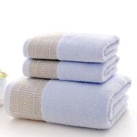 Pack of 3 Pure Cotton Bath Towel Large Bath Sheet Thick Yarn Soft Bath Sheet