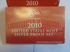 2010 US Mint Silver Proof Set ( Replacement Box !!! NO COINS !!!)
