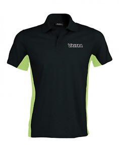 Valtra Tractor Combine Two Tone Quality Printed Heavyweight Polo Shirt New 130HP