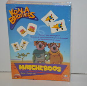 The Koala Brothers Matcheroos Playing Card Game New 2004