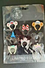 More details for mickey ears headband disney trading pin set