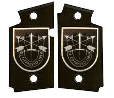 Custom Sig Sauer P938 Ambidextrous Grips De Oppresso Liber Army Special Forces