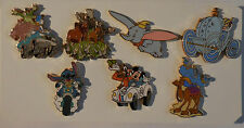 Disneyland All Roads Lead to Happiest Homecoming on Earth GWP 7 Pins + Map Set