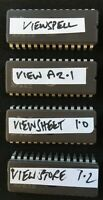 Acorn BBC Micro Model B 4 x ROMS View ViewStore ViewSheet ViewSpell tested OK