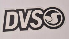 "DVS SHOE COMPANY LOGO STICKER 7.5"" X 3"" $5 Black dvs skate moto snowboarding"