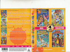 The Secret of The Hunchback-1996/Snow White And The Magic Mirror/-4 Movie-2 DVD