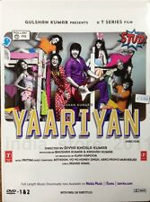 Yaariyan DVD (2014) Bollywood Movie 2-Disc Edition DVD / Region Free / Subtitles