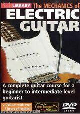 Lick Library Mecánica De Guitarra Eléctrica aprender a jugar principiante fácil Guitarra Dvd