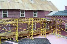 SCAFFOLDING HO Scale Model Railroad Structure Unptd  Laser Kit RSL2513