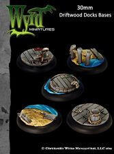 Malifaux - Base Inserts: Driftwood Docks (30mm) WYR0038