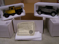 National Motor Mint 1928 Chevy 1/2 Ton Pick up 1928 Chevy Roadster COA Lot Of 2