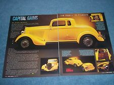 "1934 Plymouth PFXX Coupe Vintage Street Rod Article ""Capital Gains"""