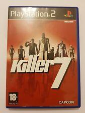 Killer 7 PlayStation 2 (ps2) pal España y completo