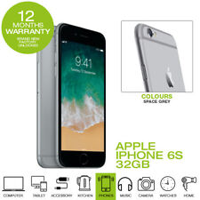 APPLE IPHONE 6S 32GB SIM FREE BRAND NEW Factory Unlocked-Space Grey