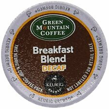 Green Mountain Coffee K-Cup for Keurig Brewers - Decaf Breakfast Blend, 24 Ct