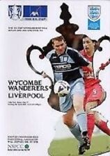 FA Cup Teams S-Z Wycombe Wanderers Football Programmes
