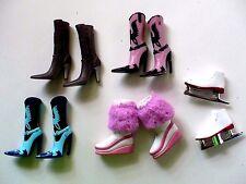 Bratz Doll 4 Pair Boots 1 Ice Skates