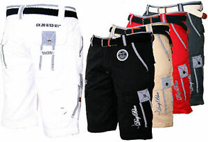 Geographical Norway Men's Cargo Shorts Bermuda Knee Length Parash