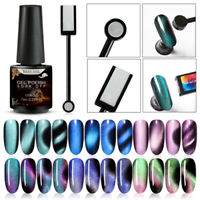 RBAN NAIL Glitter Magnetic Cat Eye UV Gel Polish Soak Off Nail Art Tool Set Kit