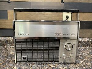 Vintage SHARP Multi Band Deluxe Radio Model FV-1710 Nice Condition And Tested