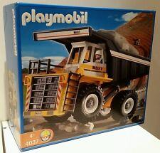 PLAYMOBIL HEAVY DUTY DUMP TRUCK 4037 + BONUS CONSTRUCTION SET 4138 NEW GIFT ����