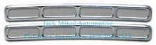 Pirate Chrome Billet Aluminium Dash Vent Covers for HUMMER H3 (Set of 2)