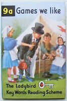 Vintage Ladybird Book – 9a Games we like – Peter & Jane - 2'6 First Edition Mint